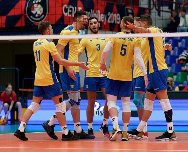 Диагональный сборной Украины Виецкий: Играем все лучше и лучше - «Волейбол»