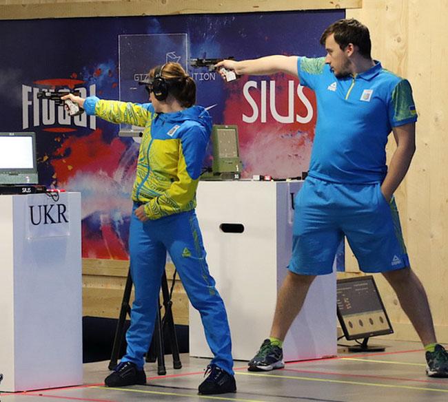Костевич и Коростылев – серебряные призеры ЧЕ в миксте по стрельбе из пистолета на 25 м (+Видео) - «Стрельба»