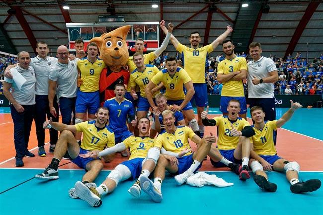 Волейбол. ЧЕ-2019 (муж). Сборная Украины победила Эстонию и обеспечила себе место в плей-офф - «Волейбол»