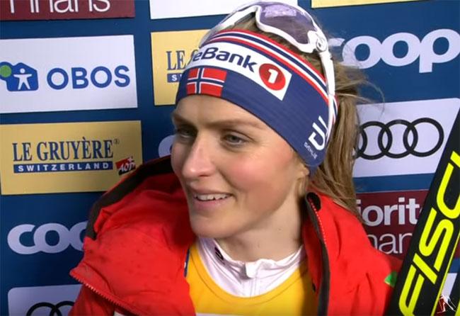 Йохауг пообещали вручить самодельный «Большой хрустальный глобус» - «Лыжные гонки»