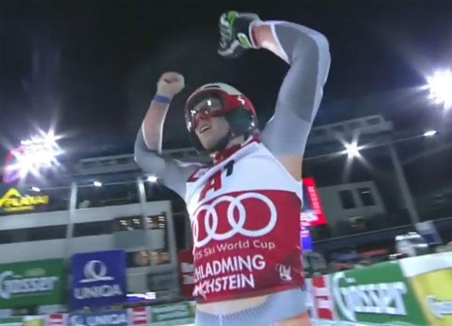 Норвежский горнолыжник Кристофферсен победил в слаломе на этапе КМ в Австрии (+Видео) - «Горнолыжный спорт»