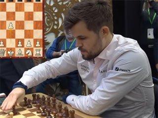 Legends of Chess. Карлсен обыграл Непомнящего в первом матче финала - «Шахматы»