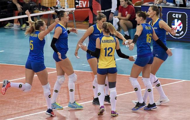 Волейбол. Чемпионат Европы. Украинки победили команду Португалии - «Волейбол»