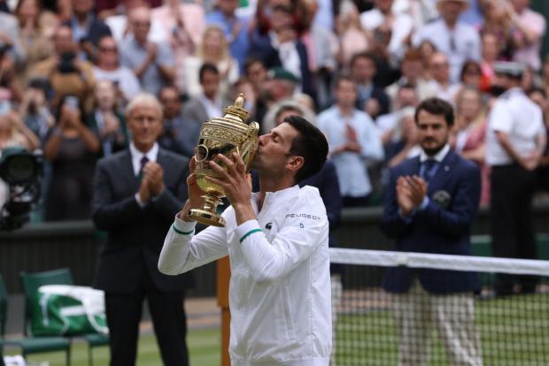 3/4 «Большого шлема». Джокович выиграл Уимблдон и догнал Федерера с Надалем - «Теннис»