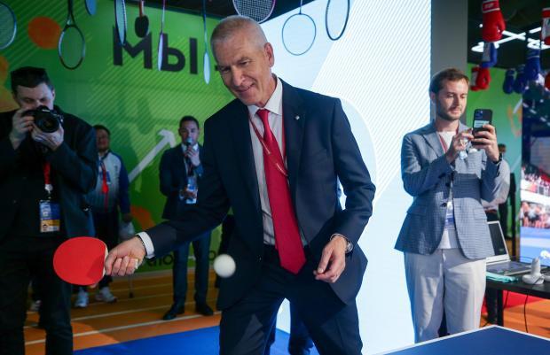 Министр спорта России Олег Матыцин провел телемост Владивосток - Токио - «Новости спорта»