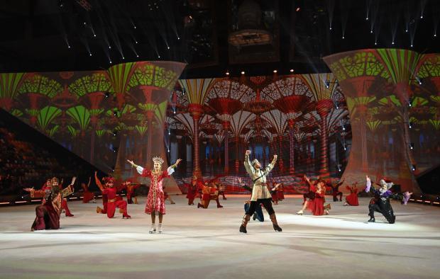 Шоу Татьяны Навки «Руслан и Людмила» пройдет в тематическом парке развлечений «Сочи Парк» - «Фигурное катание»